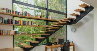 صورة تصاميم سلالم منازل صغيرة , تعرف على ديكورات السلالم الداخليه