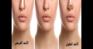 صورة وصفة لتنحيف الانف , عمليات التجميل الطبيعيه وبالبيت