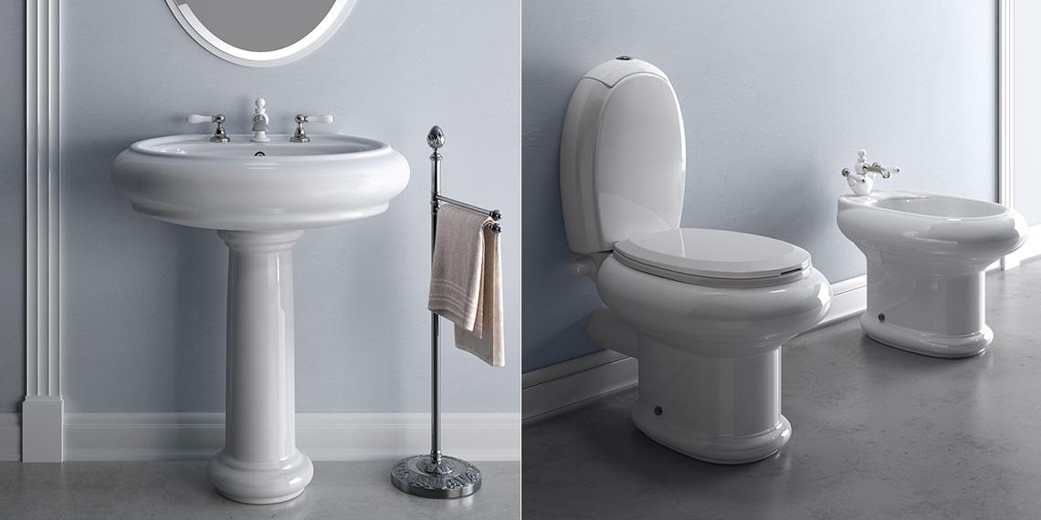 صورة اطقم حمامات 2019 , الجديد فى عالم الديكورات واكسسوارات الحمام